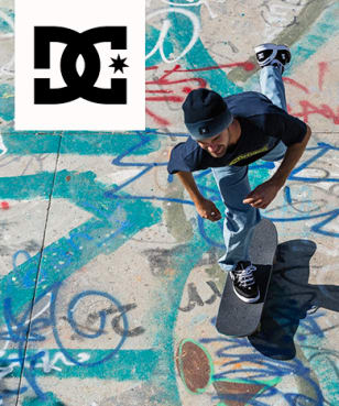 DC shoes - 20% off