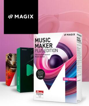 MAGIX Software - 30% Rabatt