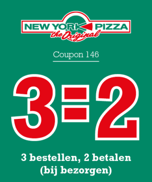 New York Pizza - AmazingDiscount