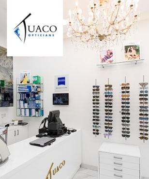 Tuaco Opticians - 50% off