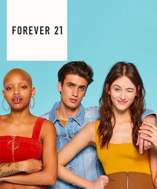 Forever 21 - 15% Rabatt