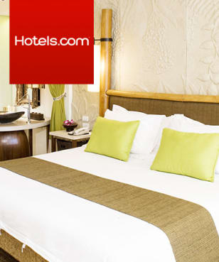Hotels.com - 8%