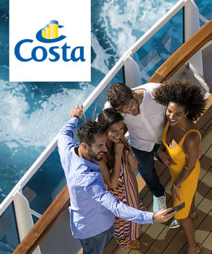 Costa Kreuzfahrten - 10% Rabatt