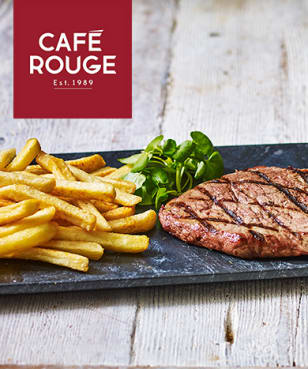 Café Rouge - 2nd Main 4 £1