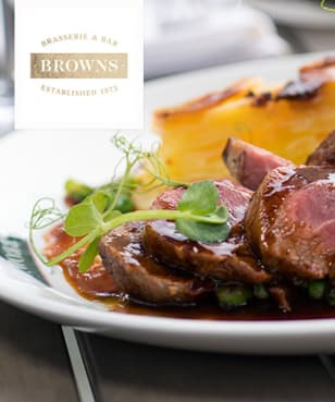 Browns Brasserie and Bar - £10 off