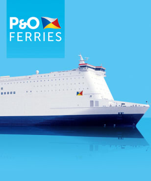 P&O Ferries - 25€ Rabatt