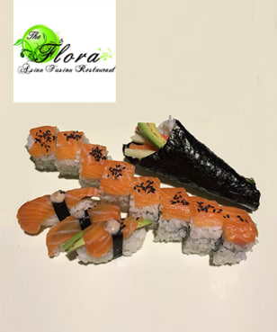 The Flora - Asian Fusion - 35% off