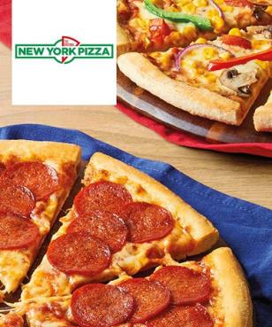 New York Pizza - 50%