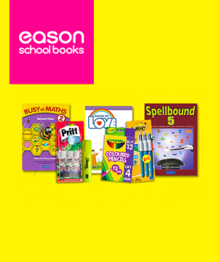 Eason School Books - 17% off