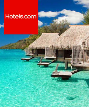 Hotels.com - up to 50% off