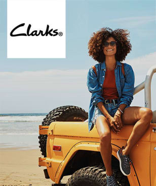 Clarks - 15% off