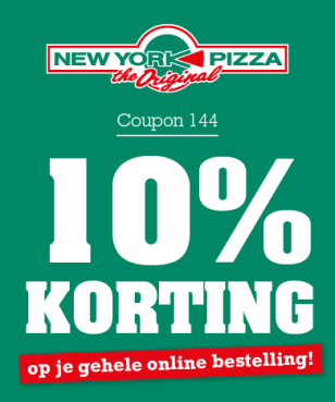New York Pizza - 10%
