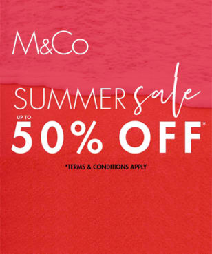 M&Co - Up to 50% off