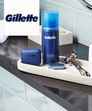 Gillette - 10% Rabatt