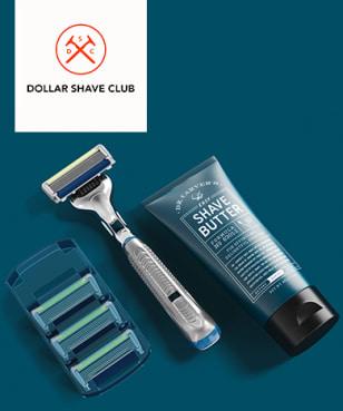 Dollar Shave Club - best in market blue