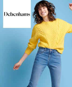 Debenhams - Free £5 Gift Card