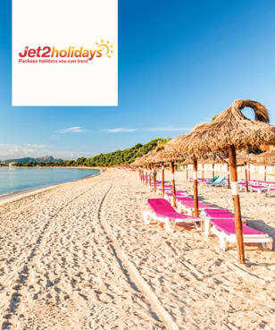 Jet2holidays - Free  £10 Gift Card