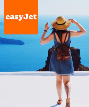 easyJet Holidays - Free  £15 Gift Card