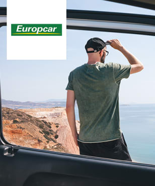 Europcar - €16 off