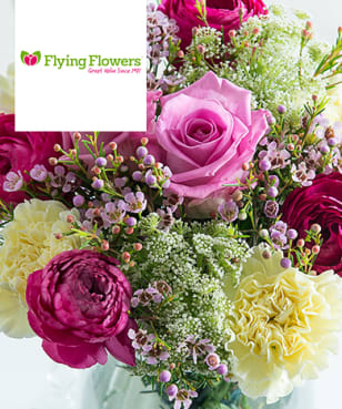 Flying Flowers - 18% Off