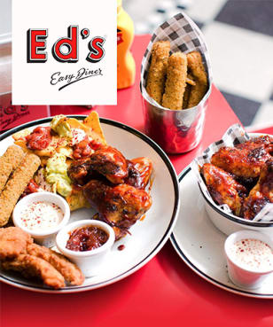 Ed's Easy Diner - 50% off