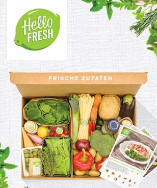HelloFresh - 30€ Rabatt