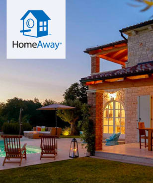 HomeAway - Free £50 Gift Card