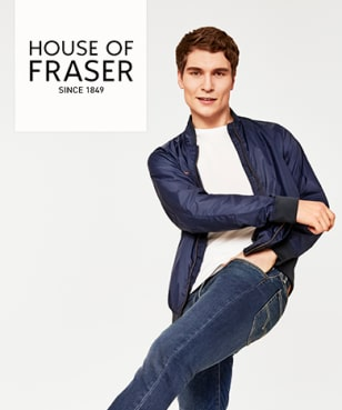 House of Fraser - 60% Off
