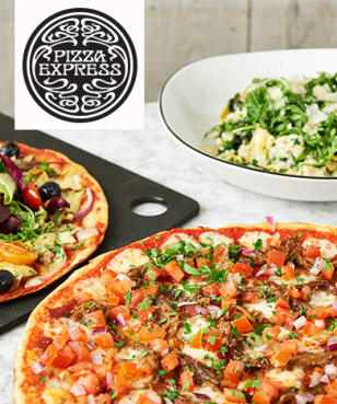PizzaExpress - PizzaExpress - Up to 25% Off Food (Varies by Location) at PizzaExpress