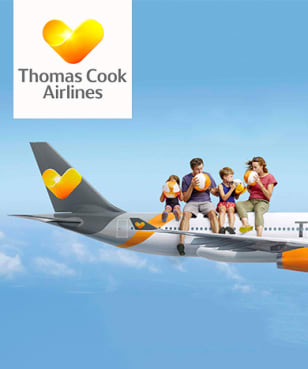 Thomas Cook Airlines - Up to £200 Off