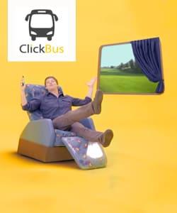 Clickbus - Desconto incrí