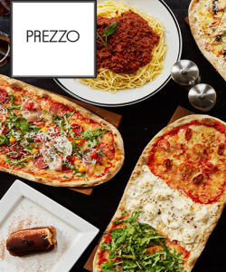 Prezzo - Prezzo - 40% Off Food or Kids Eat for £1 at Prezzo
