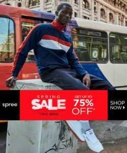 spree - Up to 75% off