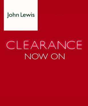 John Lewis - Clearance
