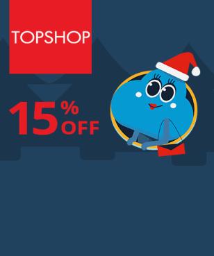 Topshop - 15% off