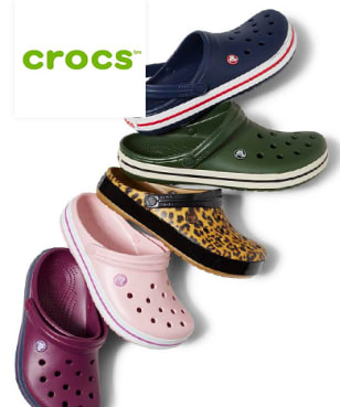 Crocs - 10%