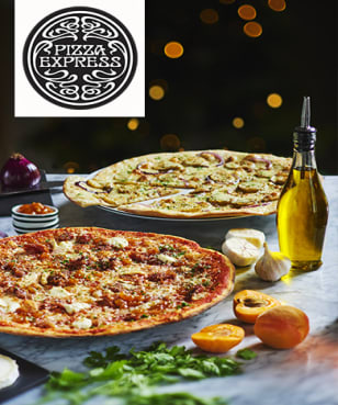 PizzaExpress - PizzaExpress - Up to 25% Off or Set Menu's from £9.95 at PizzaExpress