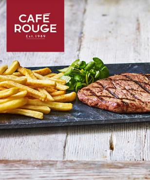 Café Rouge - 2 for 1