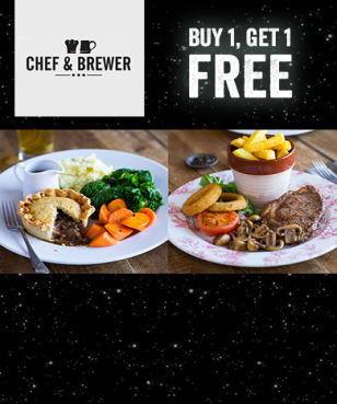 Chef and Brewer - BOGOF