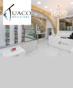 Tuaco Opticians - 10% off