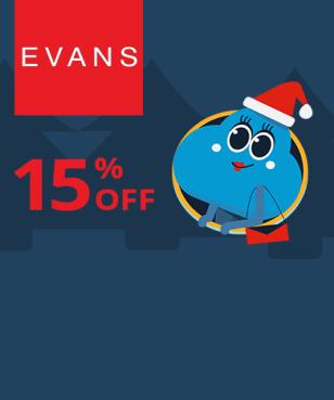 Evans - 15% off