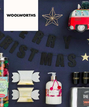 Christmas Gift Specials from R60 at Woolworths