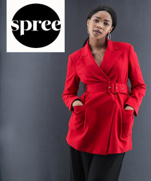 R100 Off Orders with Newsletter Sign-ups at Spree
