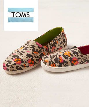 TOMS - up to 60% off
