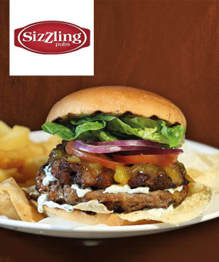 Sizzling Pubs - 33% off