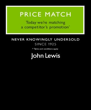 John Lewis - Price Match