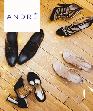 André - up to 70% off