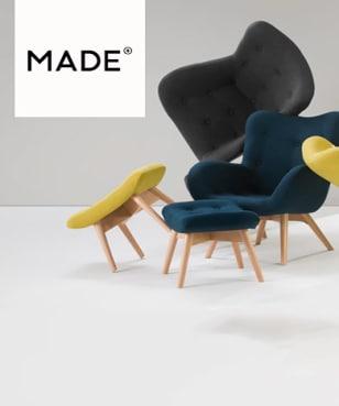 Exclusief: €35 Korting op bestellingen vanaf €350 bij Made.com