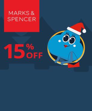 Marks & Spencer - 15% off