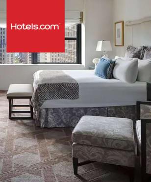 Hotels.com - 10% off